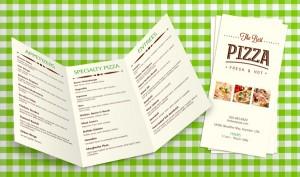 print menus